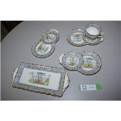 Various Royal Albert Silver Birch Pieces