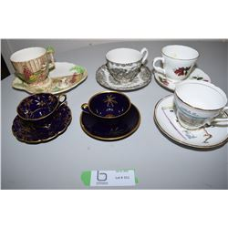 6x Cup & Saucers Lot