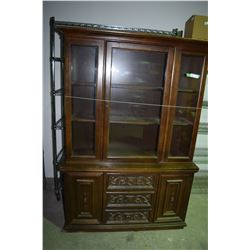"""China Cabinet 4' W By 70"""" T"""