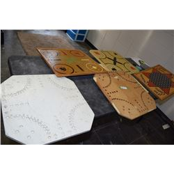 Folk Art Wooden Board Games