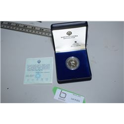 Silver Proof Yugoslavia Olympic Coin