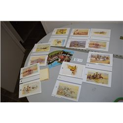 Charlie Russell & New Native Postcards