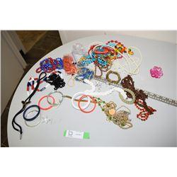 Costume Jewelry (Necklaces & Rangles)