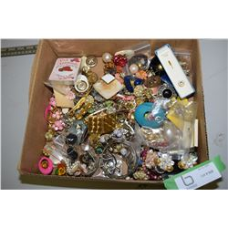 Costume Jewelry (Brooches & Earrings)