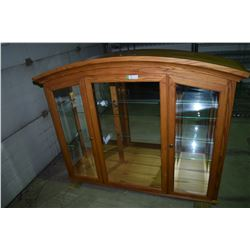 China Cabinet (4w Light) Bevelled Glass G3W 5OT 17D
