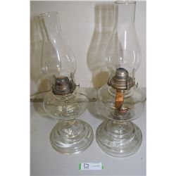 2X TIMES THE MONEY Coal Oil Lamps