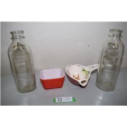 Pyrex & Bottles