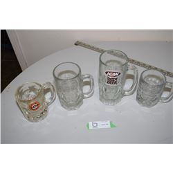 A& W Root Beer Mugs