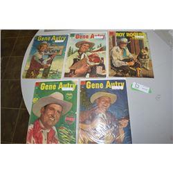 Gene Autry & Roy Rogers Comic Book Lot