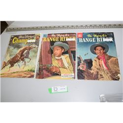1950's Western Cowboys Comic Book Lot