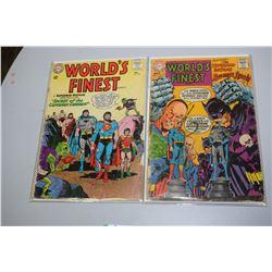 Worlds Finest Superhero Comic Books