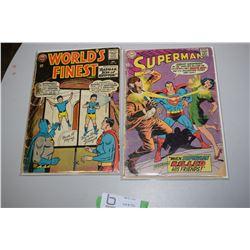 Worlds Finest Superman Comic Books