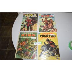 Mounted Police Comic Books