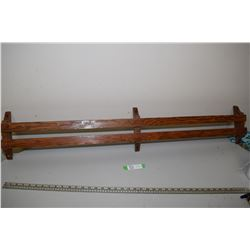 Antique Wall Shelf (From Church Pew)