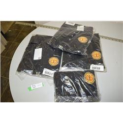 3 Medium & 1 Small New Canadian Forles Polo Shirts