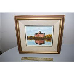 1983 Painting Of  Bess Borough (Saskatoon)