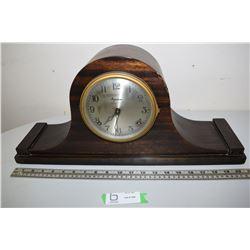 Ingraham Mantle Clock Rerushed & Oiled Runs