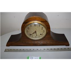 New Haven Mantle Clock Rerushed & Oiled Runs