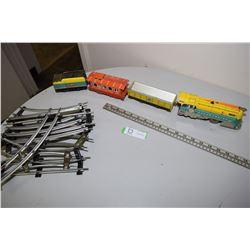 Battery Tin Train Set 1954 Wyandotte