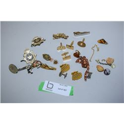 Jewellry Lot Has Prison Cap Badges) 1949 Ladies Watch
