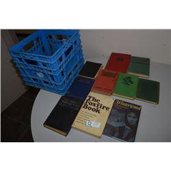 Antique Books & Plastic Case