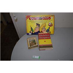 AA. 1939 Book, 1930 Bob White & Game