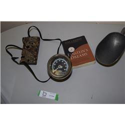 Sun Tachometer, Antique Soap Etc.