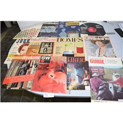 Vint Canadian Magazine Lot