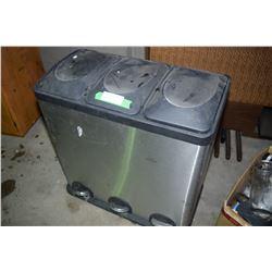 3 Bin Garbage, Recycle Etc