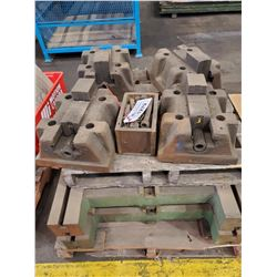 PALLET OF TOOLING JAWS