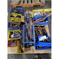 PALLET OF HARDWARE, WRENCHES, TOOLING AND MORE