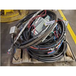 PALLET OF ASSORTED POWER CABLE AND SWITCH BOXES