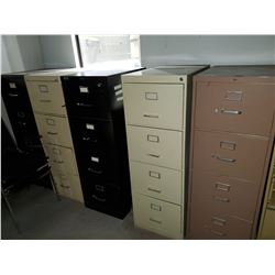 5 4 DRAWER FILE CABINETS