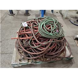 PALLET OF ASSORTED AIRLINE HOSE,