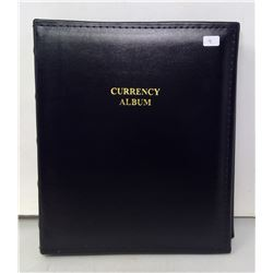 Currency Album for Graded Paper Money - with sheets