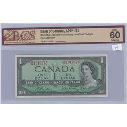 1954 - $1.00 - Unc 60 BCS Graded