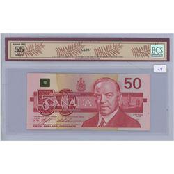 1988 - $50.00 - AU 55 - BCS Graded
