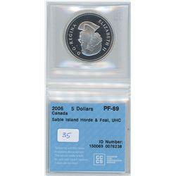2006 - $5.00 PF69 - CCCS
