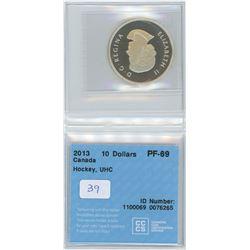 2013 - $10.00 - PF69 - CCCS