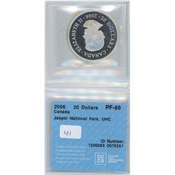 2006 - $20.00 PF69 - CCCS