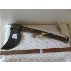 Tomahawk made for sale by Okanagan tribe in Washington state