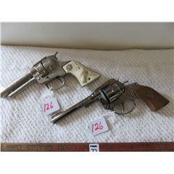2 vintage cap guns, Texan & Cowboy