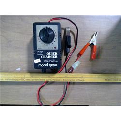 Quick Charger 7.2V & Meter Stick