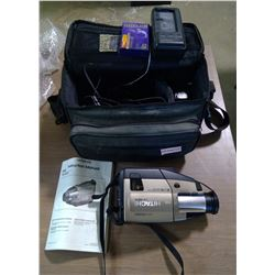 Hitachi Video Recorder & Case with Battewry & Charger