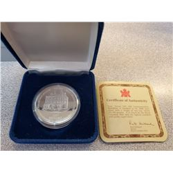 1869-1994 50 dollar coin .9999 silver redeemable at Eaton