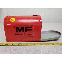 Massey Ferguson tin mail box