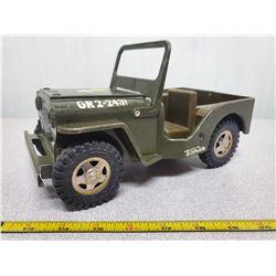 1960's Tonka army jeep