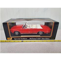 1/18 scale 1965 GTO conv. Hurst edition (new in box)