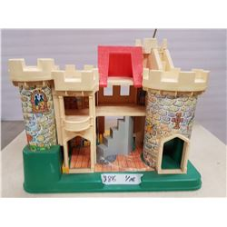 Vintage Fisher Price Toy Castle