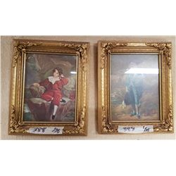 2 Vintage Framed Pictures